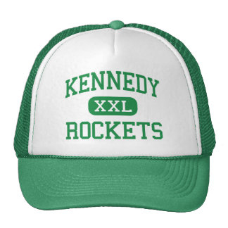 Kennedy - Rockets - High - San Antonio Texas Trucker Hat