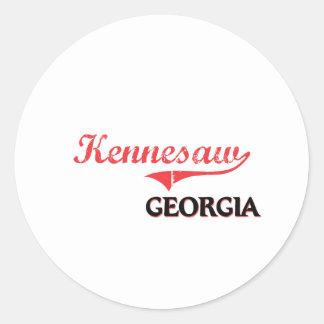 Kennesaw Georgia City Classic Sticker
