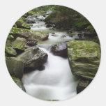 Kenny Creek Falls Classic Round Sticker