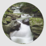 Kenny Creek Falls Round Stickers