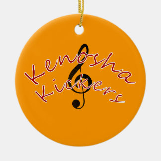 Kenosha Kickers Christmas Ornament