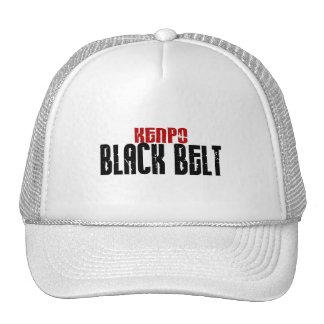 Kenpo Black Belt Karate Hats