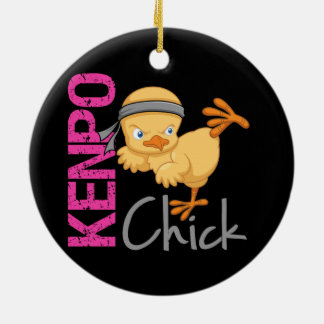 Kenpo Chick Christmas Ornament