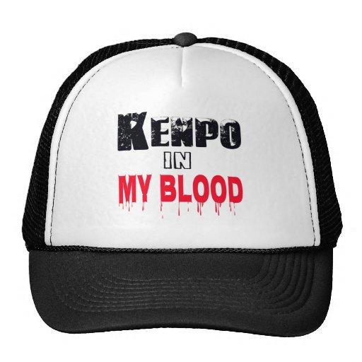 Kenpo In My Blood Mesh Hats