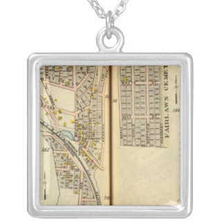 Kensico, New York Silver Plated Necklace
