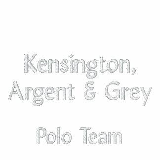 Kensington, Argent & Grey 2013 Polo Match Shirt