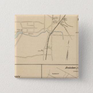 Kensington, Granby, Rainbow, Poquonnock 15 Cm Square Badge
