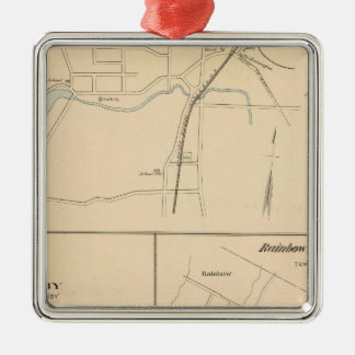 Kensington, Granby, Rainbow, Poquonnock Christmas Ornament