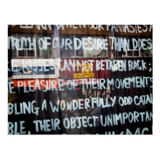 Kensington Market Street Art / Graffiti Postcard