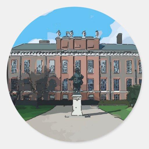 Kensington Palace Round Stickers