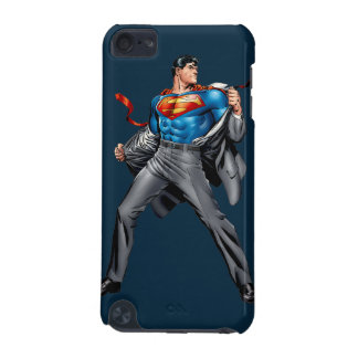Kent changes into Superman iPod Touch (5th Generation) Cases