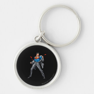 Kent changes into Superman Key Ring