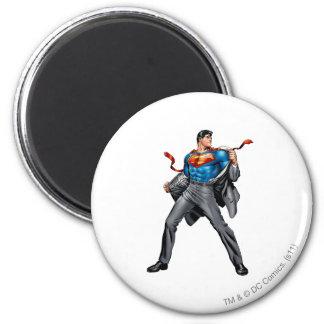 Kent changes into Superman Magnet