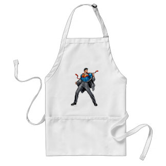 Kent changes into Superman Standard Apron