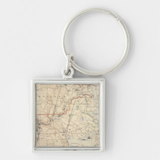 Kent County, Rhode Island Key Ring