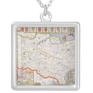 Kent, engraved by Jodocus Hondius Custom Jewelry