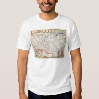 Kent, engraved by Jodocus Hondius T Shirt