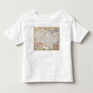 Kent, engraved by Jodocus Hondius Toddler T-Shirt