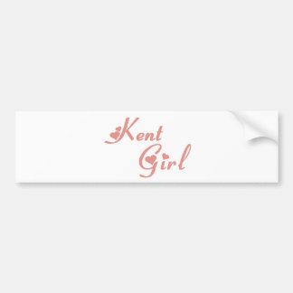 Kent Girl tee shirts Bumper Stickers