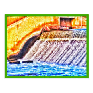 Kent Lake Dam card Postcard
