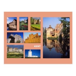 Kent multi-image postcard