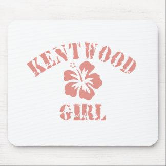 Kent Pink Girl Mousepads