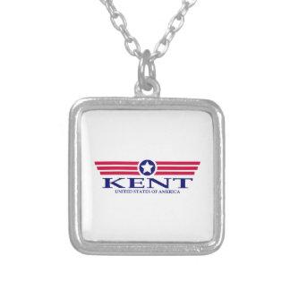 Kent Pride Square Pendant Necklace