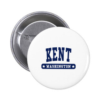 Kent Washington College Style tee shirts Pinback Button