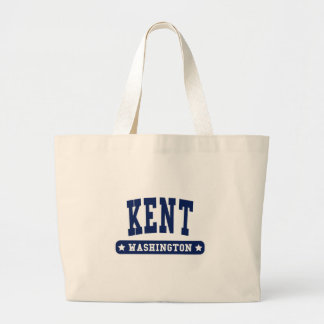 Kent Washington College Style tee shirts Tote Bags