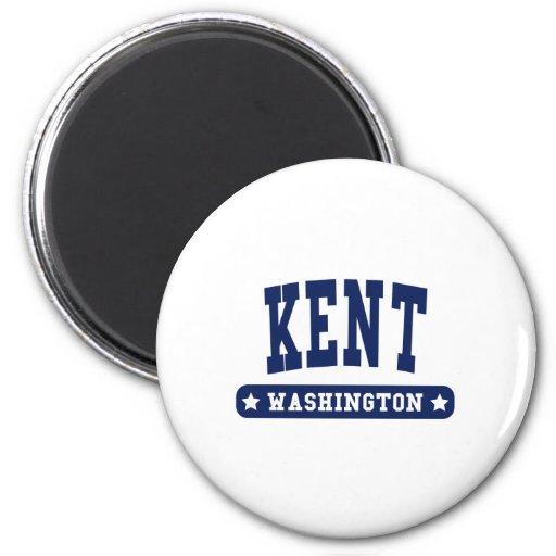Kent Washington College Style tee shirts Refrigerator Magnets