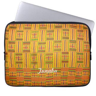 Kente Cloth 13 inch Laptop Case Computer Sleeves