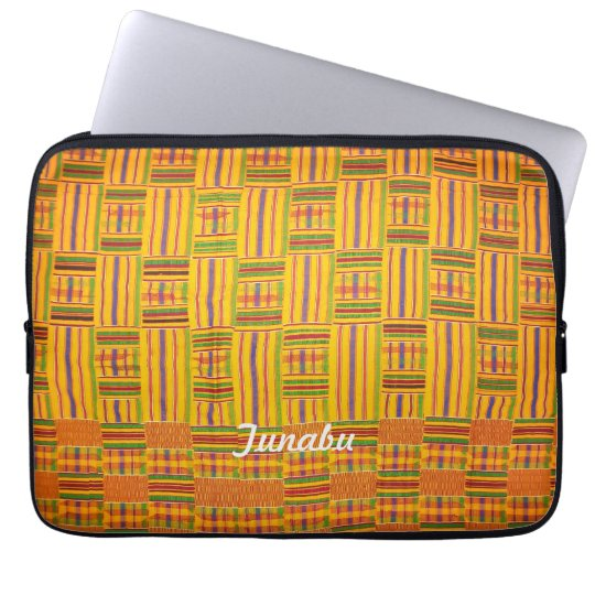 Kente Cloth 13 inch Laptop Case Computer Sleeves