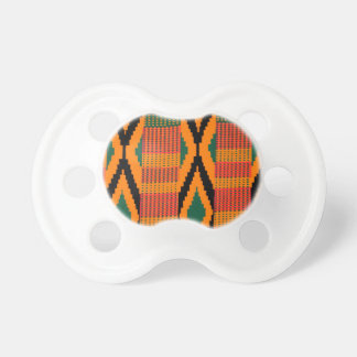 Kente Pattern Baby Pacifiers