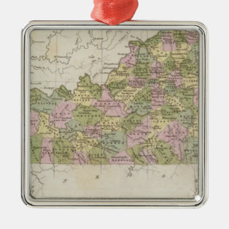 Kentucky 3 christmas ornament