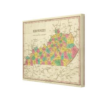 Kentucky 4 canvas print