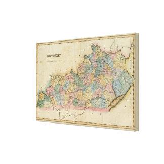 Kentucky 5 canvas print