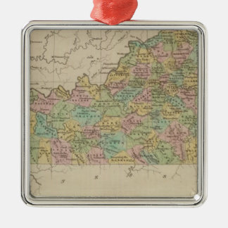 Kentucky 8 christmas ornament