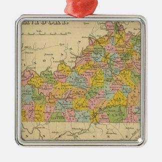 Kentucky 9 christmas ornament