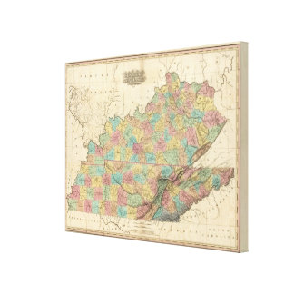 Kentucky and Tennessee 2 Canvas Print