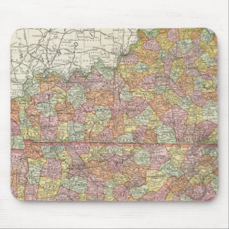 Kentucky and Tennessee 3 Mouse Pad