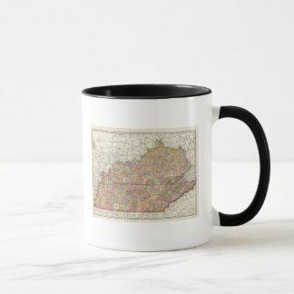 Kentucky and Tennessee 3 Mug