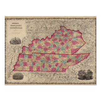 Kentucky and Tennessee 3 Poster