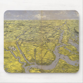 Kentucky and Tennessee 5 Mouse Pad