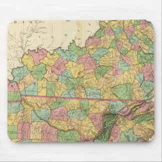 Kentucky and Tennessee 6 Mouse Mat