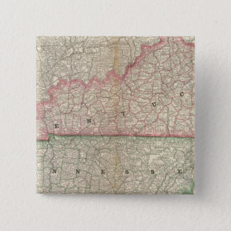 Kentucky and Tennessee 7 15 Cm Square Badge