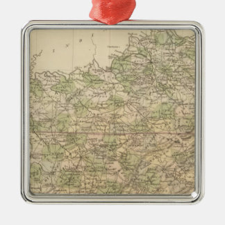 Kentucky and Tennessee 8 Christmas Ornament
