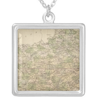 Kentucky and Tennessee 8 Silver Plated Necklace
