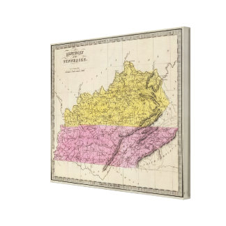 Kentucky And Tennessee Canvas Prints