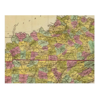 Kentucky And Tennessee Postcard