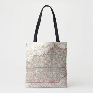 Kentucky and Tennessee Tote Bag